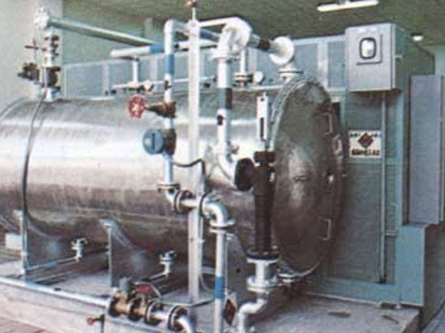 日本初のオゾン(注入)浄水処理設備